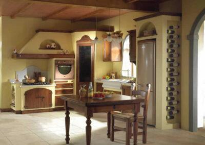 Cucina rustica modello Diletta