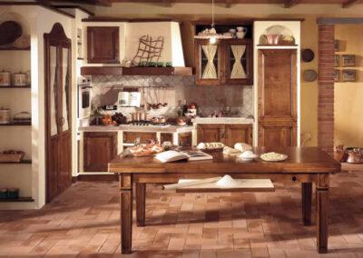 Cucina rustica artigianale