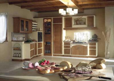 Cucina rustica Tinaia