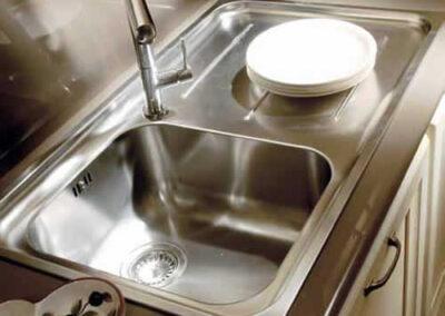 Lavandino su misura per cucina
