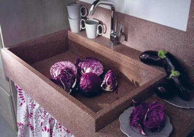 Lavandino cucina Prispola