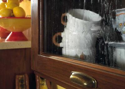 Pensile per cucina artigianale