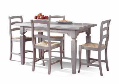 Tavoli e sedie artigianali Civitella in Val di Chiana