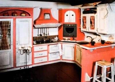 Cucina modello Azzurra Chiara