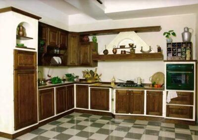 Cucina artigianale Masiano Solea