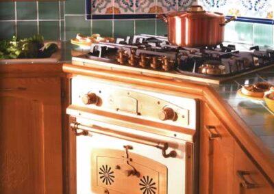 Forno per cucina in legno pregiato