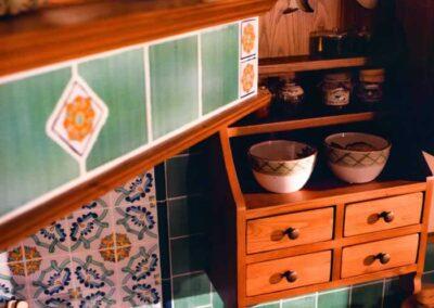 Mensole per cucina artigianali