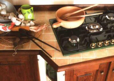 Piano cottura per cucina artigianale