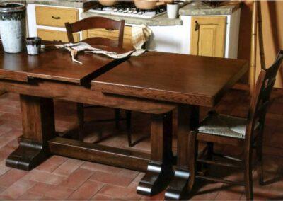Tavolo e sedie per cucina