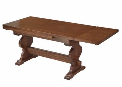 Tavolo in legno di castagno massello