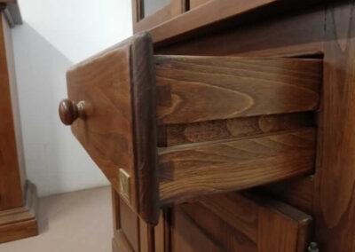 Cassetto in legno massello